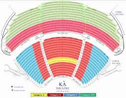 The Elegant La Nouba Seating Chart Seating Chart
