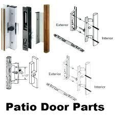 sliding glass door locks parts sliding glass door handle with lock and key net andersen sliding