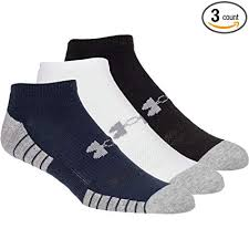 Under Armour Ua Heatgear Tech No Show Socks 3 Pack
