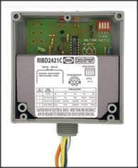 amp manufacturing j h larson company fdi ribd2421c spdt 10a time delay rib pilot relay w 120 277 24vac