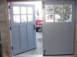swing out garage doorsHandmade custom Swing Carriage House Garage Doors and REAL