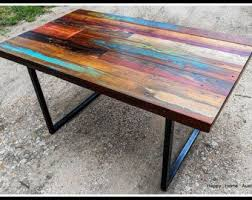 ship wood furniture. Custom Multi-Color Reclaimed Pallet Wood Side Table Ship Furniture