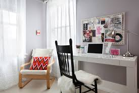 modern home office decorating. Simple Gray Home Office Modern Decorating