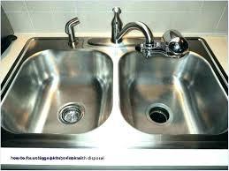 sink garbage disposal. Beautiful Garbage Clogged Garbage Disposal Standing Water A Backed Up Kitchen Sink Unclog Co  Double In Sink Garbage Disposal