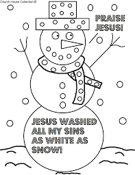 Sunday School Coloring Pages For Preschoolers Free Preschool With