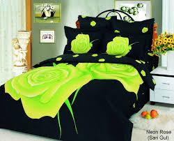 retro bedroom design with 6 piece queen neon rose silk bedspread neon bedspreads