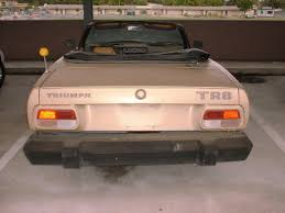 my tr project tr8 right rear view tr8 rear view