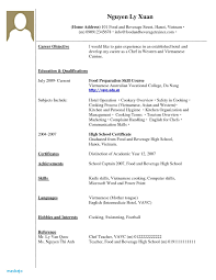 30 Elegant Resume For High School Students With No Experience