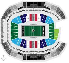 Atlanta Falcons Seating Chart Seat Views Tickpick