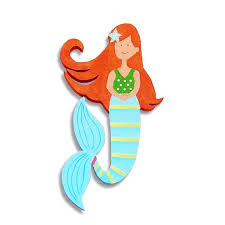 Small Picture Of Mermaids For Children mermaid swims in lazy river with children