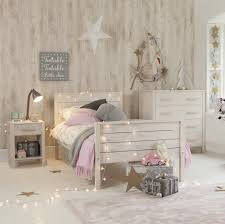 Single Bedroom Woodland Single Bed White Wash By Little Folks For Children