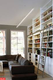 book shelf lighting. led library and book shelf lighting contemporarylivingroom