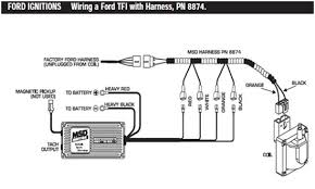 msd 6al wiring diagram ford msd image wiring diagram
