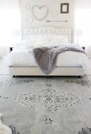 white fluffy bedroom rugs bedroom makeover ideas on a