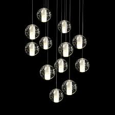 diy crystal light fixture annelise droplets silver lamp fixtures using repurposed objects wall