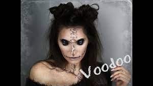 easy voodoo doll makeup tutorial