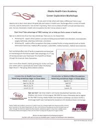 alaska health care academy think apprenticeship anchorage health care academy