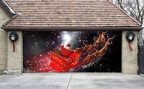 special reusable garage door covers 3d effect banners door murals g42