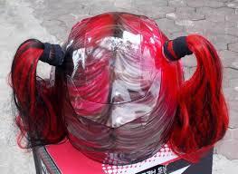harley quinn girlfriend helmet custom airbrush helmet