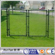 chain link fence double gate. Chain Link Fence Double Swing Gate, Gate  Suppliers And Manufacturers At Alibaba.com Chain Link Fence Double Gate K