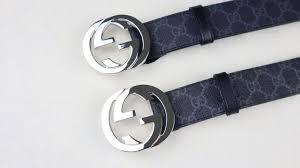 Fake Designer Belts Real Vs Fake Gucci Supreme Belt Legit Check