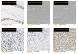 cambria is now producing matte versions of many of their new and already popular quartz designs i m really drawn to the annicca it s a lot like