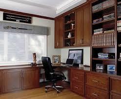 Cherry Custom Home Office Desk Finish Design   E