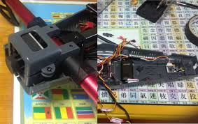 fpv connection airhigh i placed the video tx at the tail and camera at the head