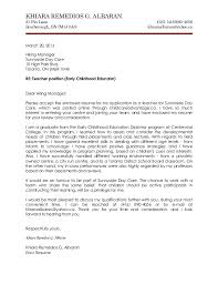 Daycare Teacher Resume Cover Letter Granitestateartsmarket Com