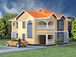 elegant 4 bedroom maisonette house plan