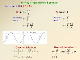 4 solving trigonometric