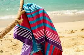 beach towels on the beach. A Bath Towel Is What You Use To Dry Yourself When Come Out Of The Or Shower. Beach Same, But For Beach. Towels On S