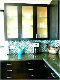 glass panels kitchen cabinet doors inserts seeded large size of for