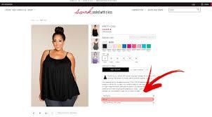 About Our Size Chart Swak Designs Plus Size Fashion