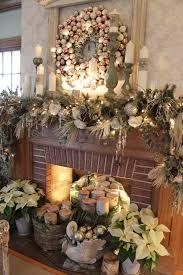 Mantel Decor For Christmas 50+ absolutely fabulous christmas mantel  decorating ideas