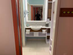 disney world pop century review room bathroom 1 jpeg