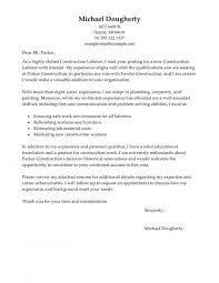 Construction Cover Letter Superb Construction Cover Letter Examples