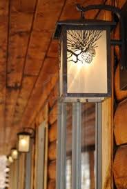 decoration outdoor lighting fixtures at a log cabin motel figure log cabin lighting fixtures