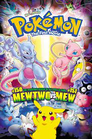Pokémon: The First Movie - Mewtwo Strikes Back (1998) - Posters — The Movie  Database (TMDB)