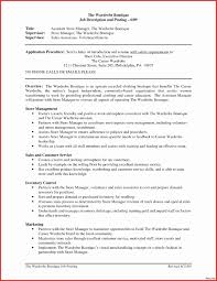 Warehouse Manager Resume Sample Sample Resume Warehouse Manager Best Of Restaurant assistant 66