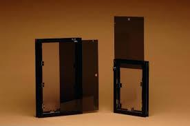in glass pet door hale pet side load vs top load security covers glass pet door