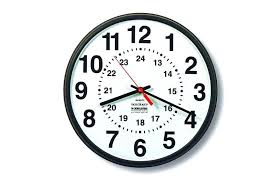 Mil Time Hr Clock 24 Military Hour Conversion Chart Understanding ...