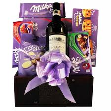 send chocolate gift basket delivery europe france germany