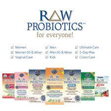 com garden of life raw probiotics women acidophilus and bifidobacteria probiotic created vitamins minerals enzymes and prebiotics gluten