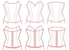 Corset Pattern Extraordinary Wedding Dress And Corset Sewing Pattern Alterations Corset Academy