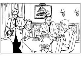 Restaurant Coloring Page Coloring Page Restaurant Img 7534