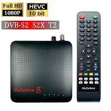 2020 Mới H.265 Truyền Hình DVB T2 DVB S2 Hellobox 8 Set Top Box Hỗ Trợ RJ45  WiFi HEVC Khóa PowerVu Biss tivi Box TVBOX|Satellite TV Receiver