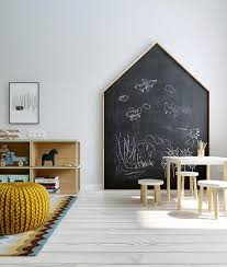 Kids Room: Boys Chalkboard Wall To Learning - Chalkboard Wall