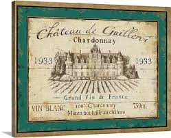 french wine label iv on french wine label wall art with french wine label iv wall art canvas prints framed prints wall