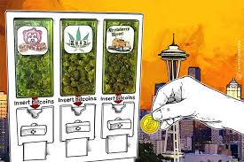 Zazzz Vending Machine Beauteous BitcoinFriendly Cannabis Vending Machines Make 'Historic' Debut In